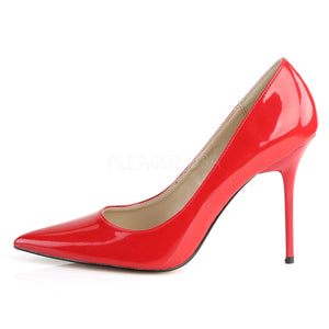 4 Inches Red Classic Stilettos