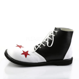 Black and White Clown Shoes