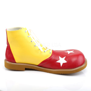 Yellow and Red Clown Shoes