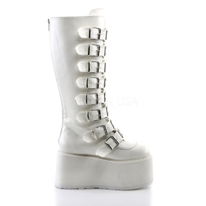 Damned of the Night White Boots