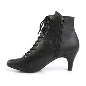 Divine Large Sizes Victorian Ankle Boots