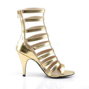 Gladiator Ankle Gold Boots