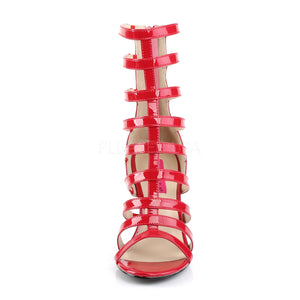 Gladiator Ankle Red Boots