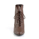 Large Size Victorian Boots Brown