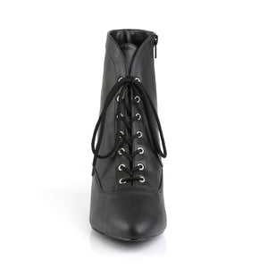 Large Size Victorian Boots Black