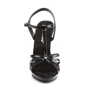 Flair Black PA Strappy Heels