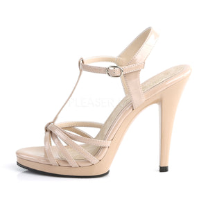 Flair Nude Strappy Heels