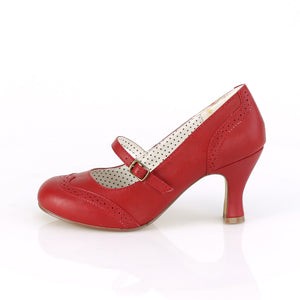 Retro Dance Shoes Red