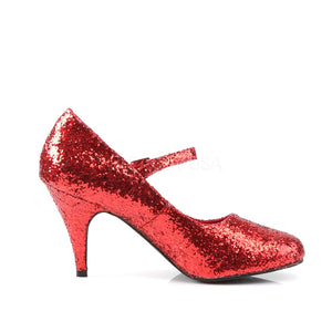 red burlesque shoes