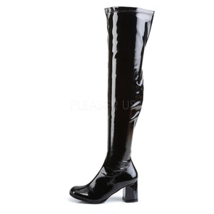 Over The Knee Boots GOGO-3000 Black