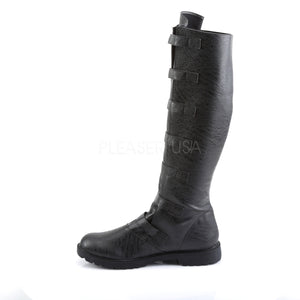 Post Apocalyptic Boots Black