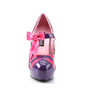 purple lolita shoes
