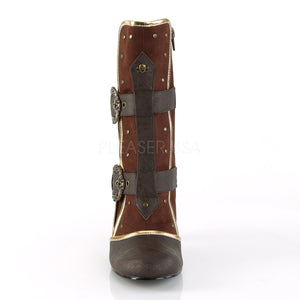 Bloody Mary Pirate Boots Brown