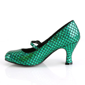 Green Mermaid Heels