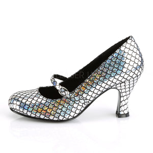 Silver Mermaid Heels