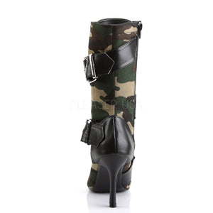 Camouflage Military Boots