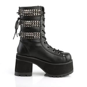 Triple Trouble Punk Boots