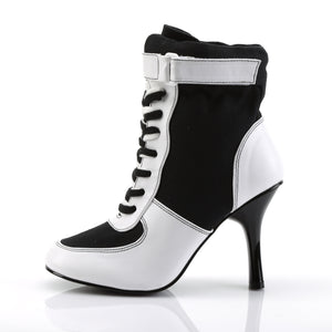 High Heel Sneaker Ankle Boots