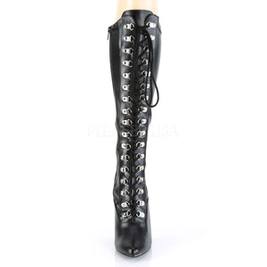 All Eyes On Me D-Ring Stretch Knee Boots