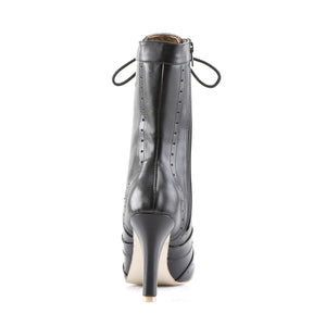 mid calf steampunk boots