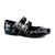 skull buckle gothic shoes
