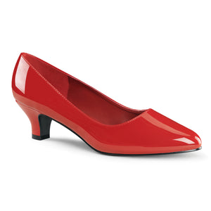 Comfortable Large Size Classic Red Pumps
