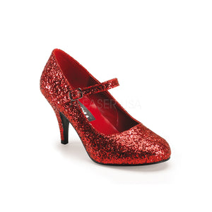 Glitter red shoes