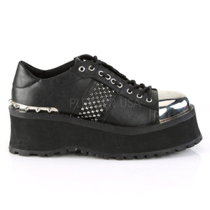 punk style oxford shoes