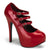 Teeze-05 Red Platform Pumps
