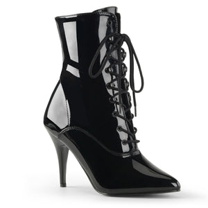 Vanity Shiny Ankle Boots