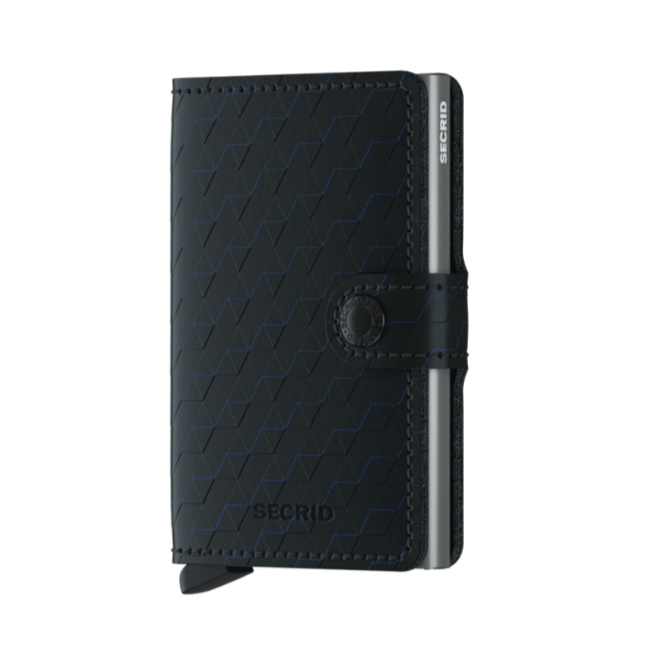 Secrid Miniwallet Optical Black - Titanium