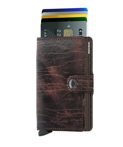 SECRID Miniwallet Dutch Martin Cacao-Brown