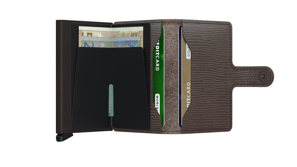 SECRID Miniwallet Rango Brown-Brown