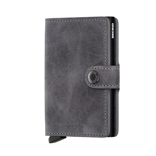 Secrid Miniwallet Vintage Grey Black
