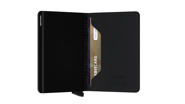 Secrid Slimwallet Perforated Black