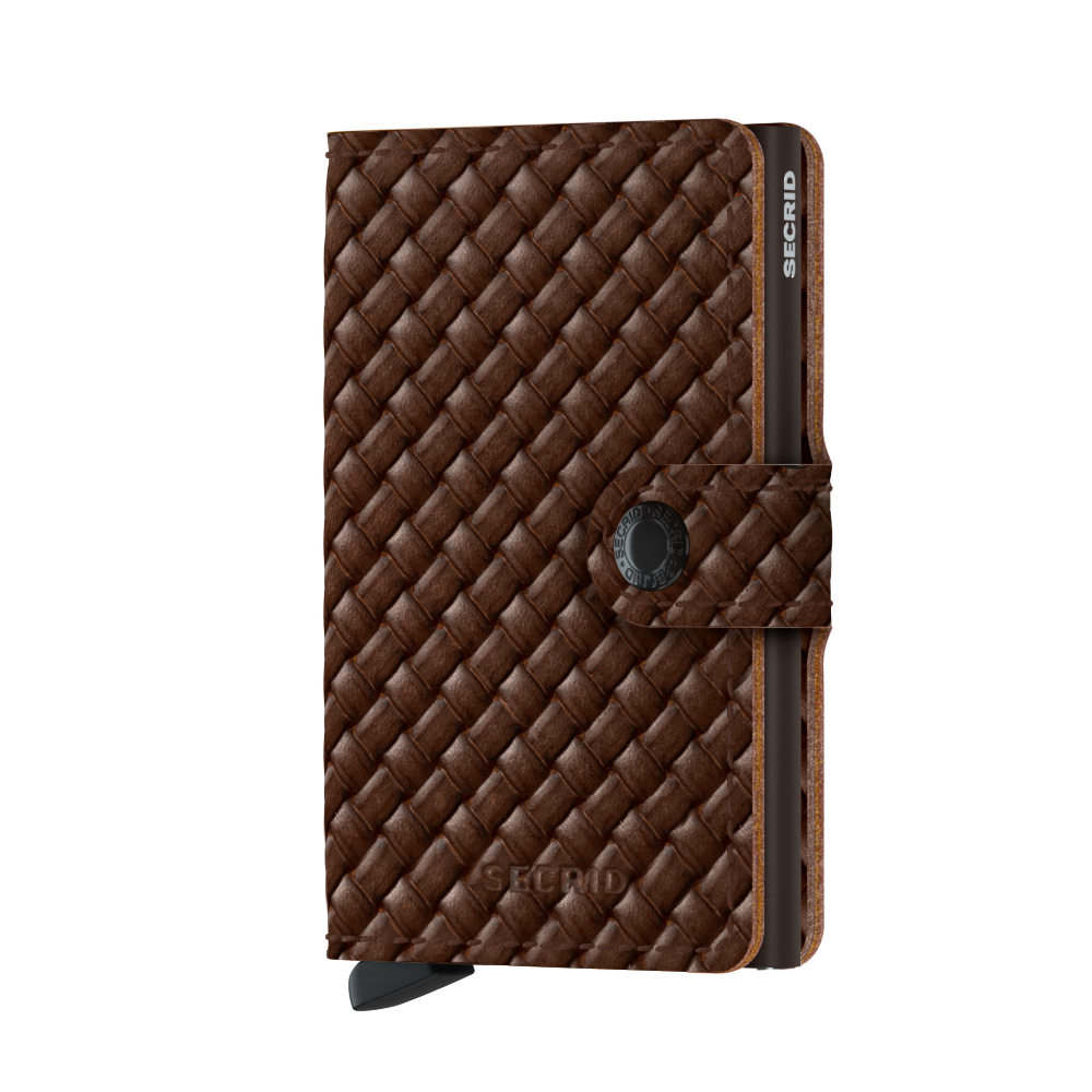 Secrid Miniwallet Basket Brown
