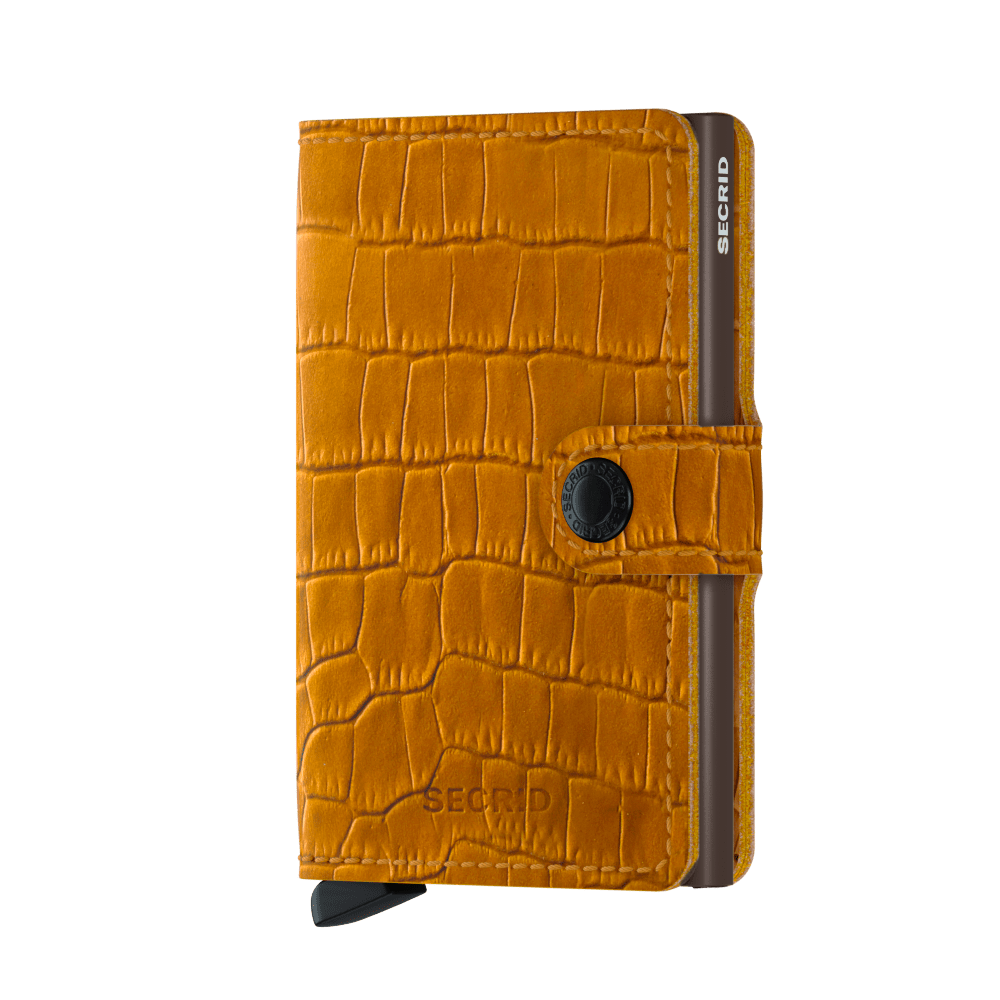 Secrid Miniwallet Ochre Brown