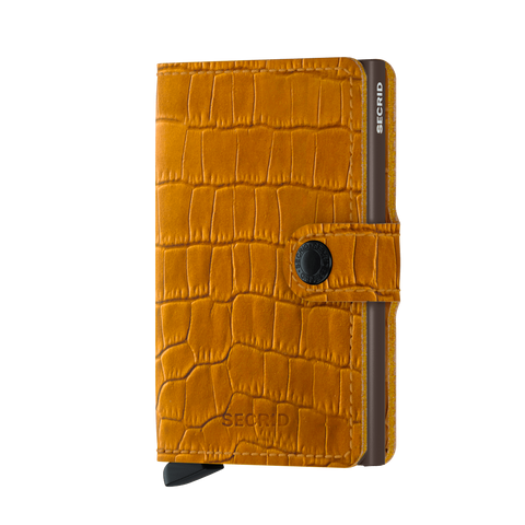 Secrid Miniwallet Ochre-Brown