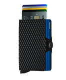 Secrid Twinwallet Cubic Black-Blue