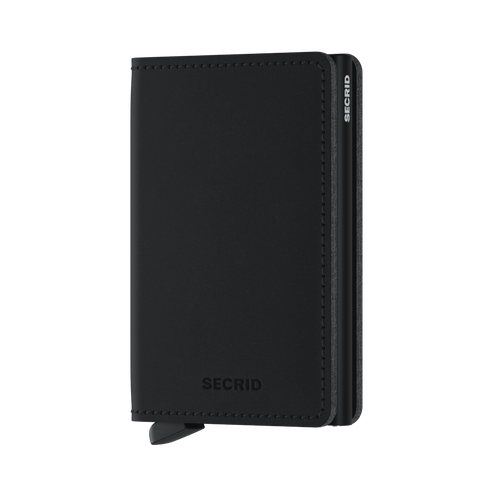 Secrid Slimwallet Vegan Soft Touch Black