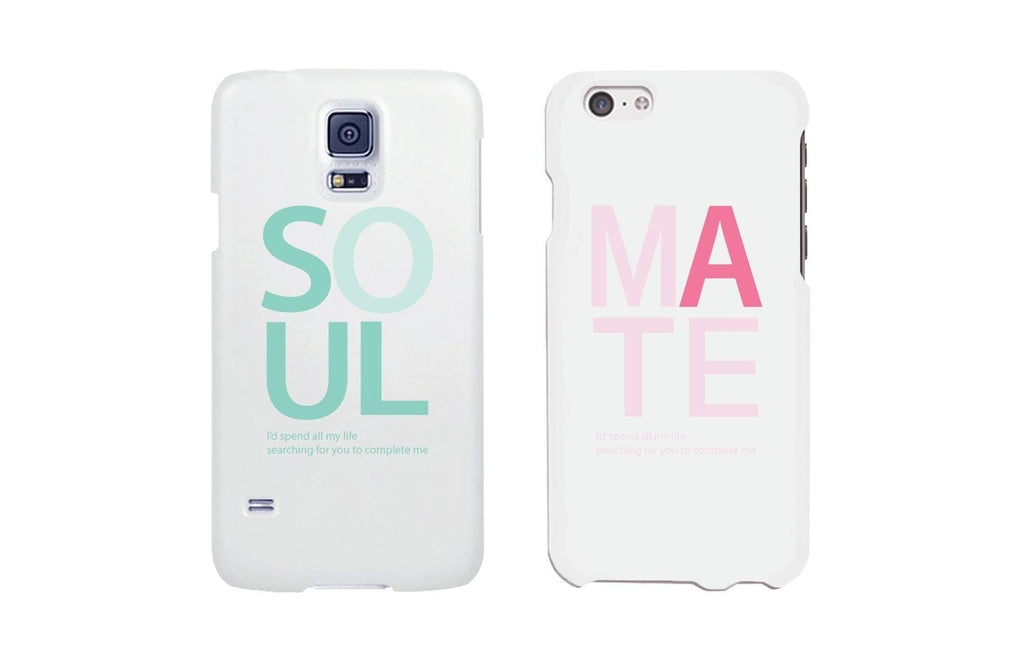 Soul Mate Matching Couple Phone Cases Valentine's Day Gifts