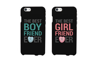 Best Boyfriend and Girlfriend Ever Matching Couple Phone Cases (Set)