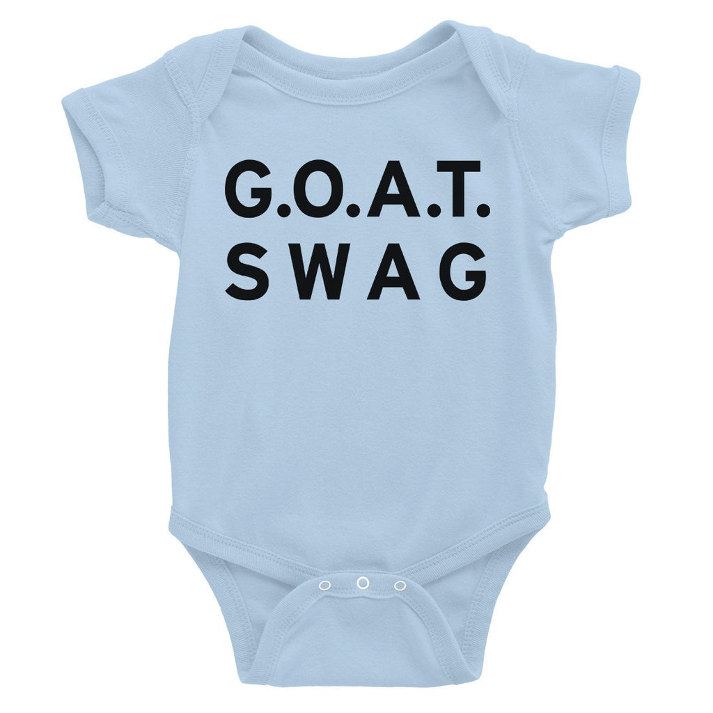 365 Printing GOAT Swag Baby Bodysuit Gift For Baby Shower Cute Infant Jumpsuit
