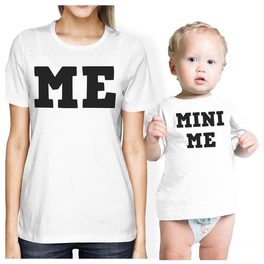 Mini Me Mom and Baby Matching Gift Shirts For New Mom X-Mas