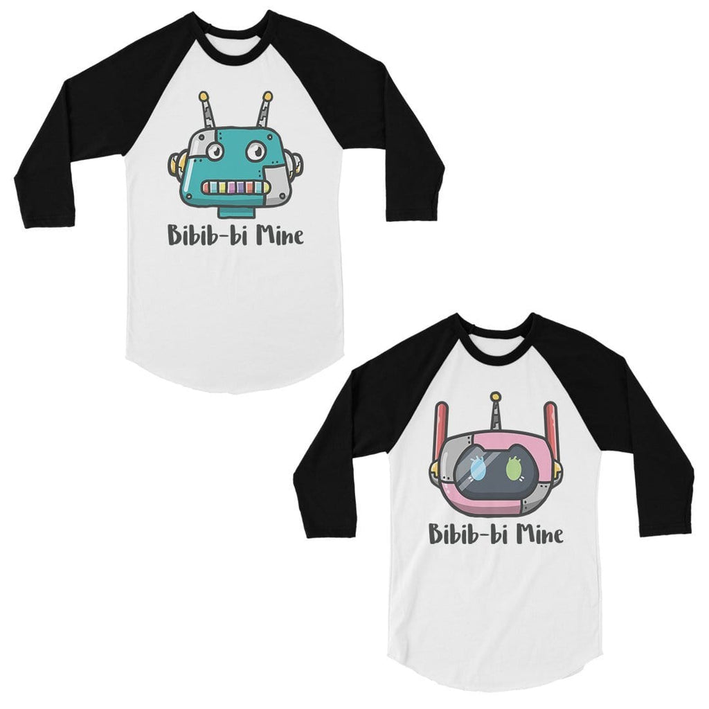 Bibib-bi Mine Matching Baseball Shirts Couples Valentine's Day Gift