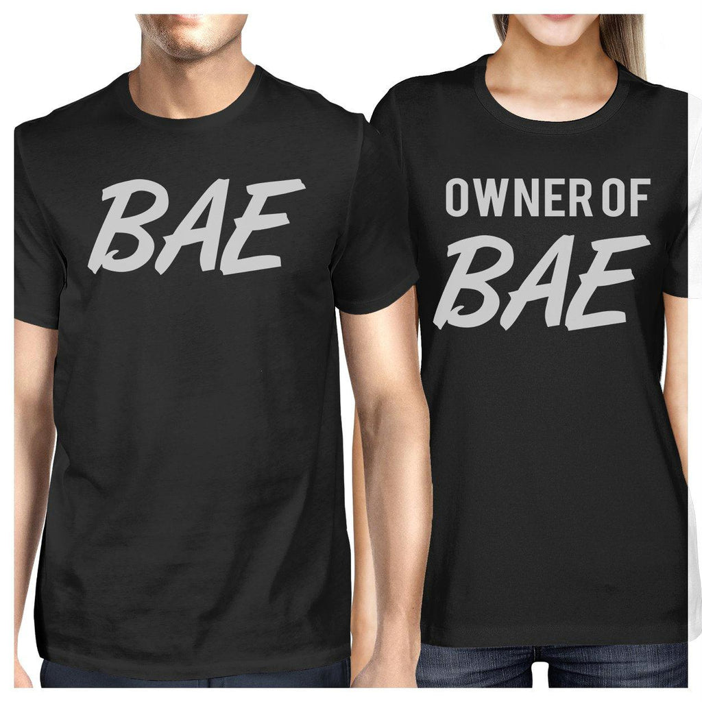 Bae And Owner Of Bae Matching Couple Black Shirts