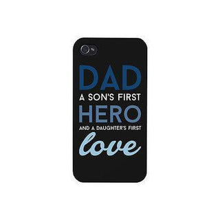 Dad Hero First Love Cute Phone Case Great Gift Idea for Fathers Day