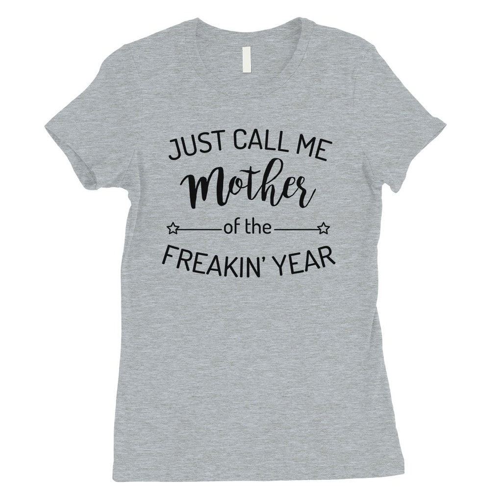 Mother Of The Year Womens Funny Shirt Best Mom Gift For Christmas