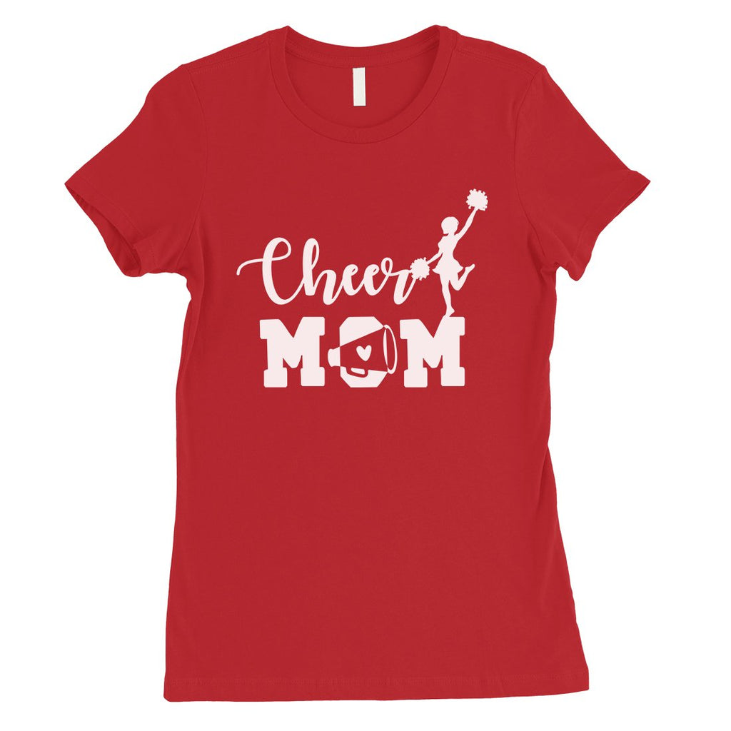 Cheer Mom Womens Cute Mothers Day Shirt Unique Gift Ideas For Mom