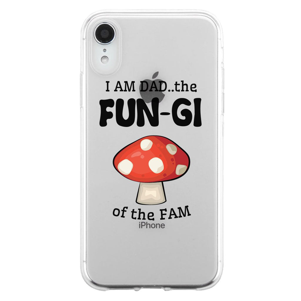 Fungi Dad Mushroom Case Fun Honest Laughable Witty Cute Father Gift